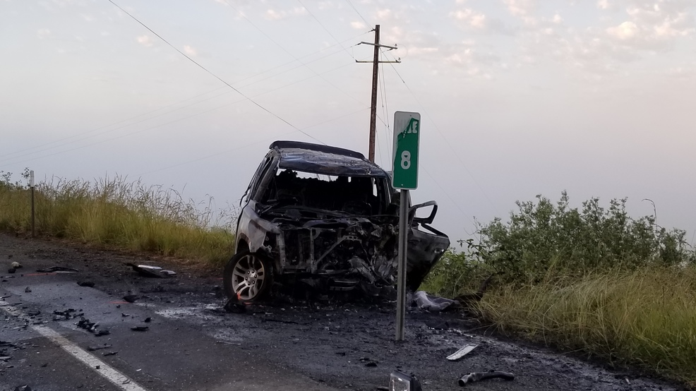 1 dead after fiery crash on Hwy 42 near Coquille | KCBY