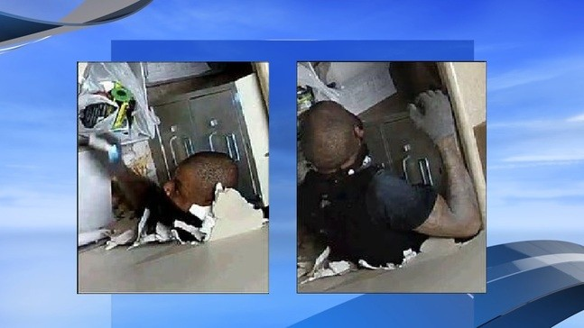 Sheriff: Help find the man who broke through a wall to rob a gas
